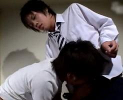 【無修正 ゲイ動画 xvideos】かわいい顔してドSのショタ高校生が同級生を言葉責めハードレイプ!!