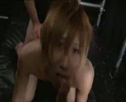【ゲイ動画erovideo】巨根のギャル男くんが男2人に全性感帯を責められトロトロのアナルをガン掘りされる