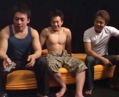 【ゲイ動画 pornhub】それぞれジャンルが異なるイケメン3人による濃厚でエロすぎる3Pゲイセックス!