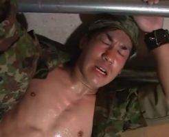 【ゲイ動画 pornhub】上官の命令には絶対服従!強引に犯される部下の自衛官!