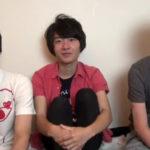 【無修正ゲイ動画】男性経験のないウブなノンケ少年がベテランゲイの手ほどきによってゲイとしての洗礼をウケる3Pセックス!!