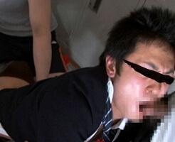 【ゲイ動画】ドッキリ企画ならぬドッキリレイプ!学生服を剥ぎ取られオラオラ系野郎どもの肉体公衆便所と化すイキ地獄!