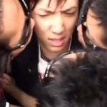 【ゲイ動画】ヤリ捨て御免!ヤンキー高校生をエレベーターでレイプするノンケ専門の集団強姦魔!