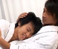【ゲイ動画】イケメンはイケメンに惹かれあう運命か…ジャニ系リア充カップルのイチャイチャっぷりがサイコーなBLアナルセックス