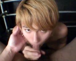 【ゲイ動画】ドMなジャニ系イケメンのパンツの上から電マ責め!亀頭中心にぶるぶるされてカチカチにフル勃起