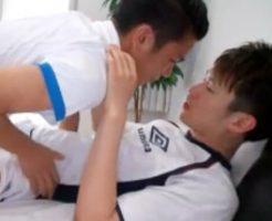 【ゲイ動画】いよいよW杯開幕!相手チームの選手とデキていたサッカー部員が試合後にめちゃくちゃアナルセックスした!